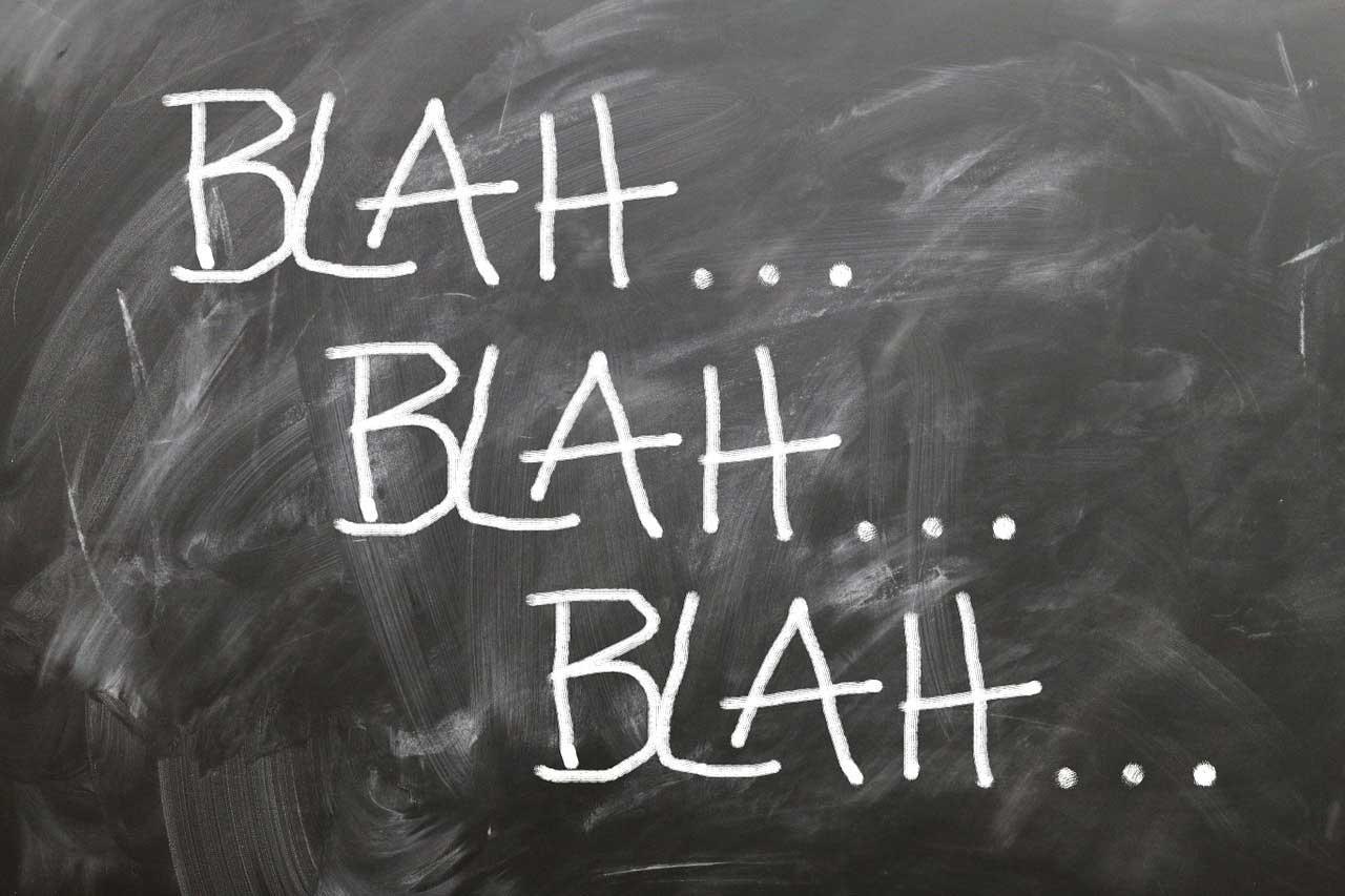 Sedikit Bicara dan Menghindarkan Diri dari Kesia-siaan